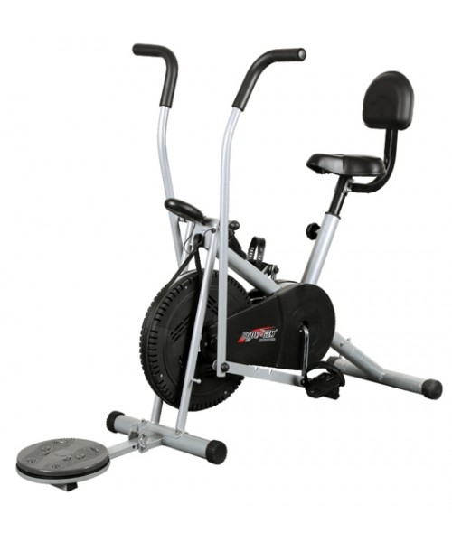 Body Gym Air Bike Exercise Cycle BGA-2001 With Back & Twister