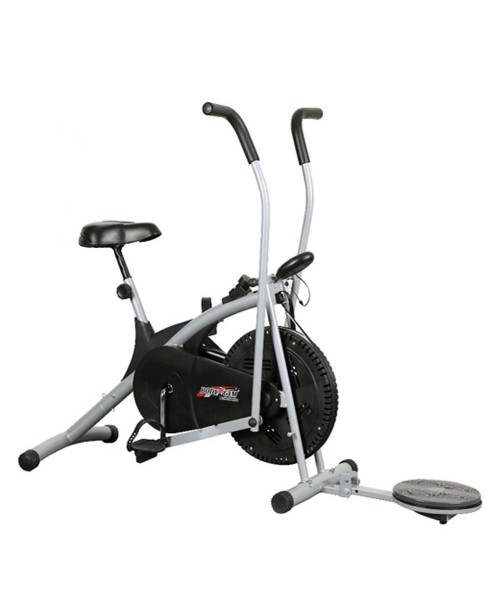 Body Gym Air Bike Stamina Exercise Cycle With Twister