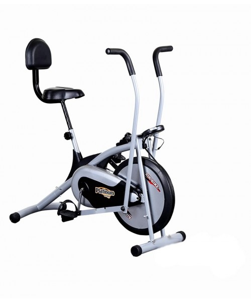 Body Gym Air Bike Platinum DX Exercise Cycle With Back
