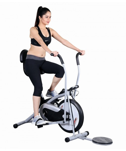 Yoneedo Air Bike Platinum DX Exercise Cycle With Back & Twister