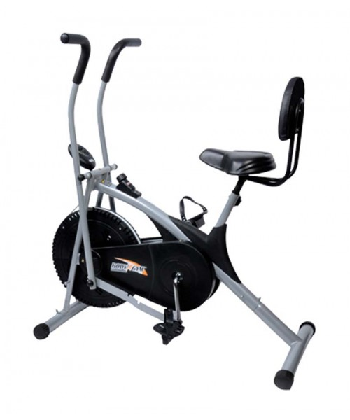 Yoneedo Air Bike Stamina Exercise Cycle With Back Support