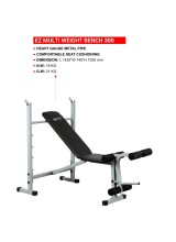 Yoneedo Abdominal Ez Multi Weight Bench-300