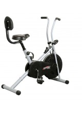 Body Gym Air Bike Exercise Cycle BGA-1001 With Back Suppot