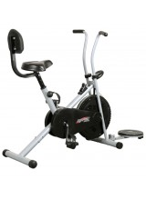 Body Gym Air Bike Exercise Cycle BGA-1001 With Back & Twister