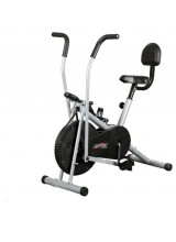 Body Gym Air Bike Exercise Cycle BGA-2001 With Back Support