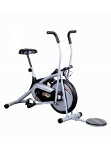 Body Gym Air Bike Platinum DX Exercise Cycle With Twister