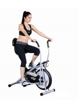 Yoneedo Air Bike Platinum DX Exercise Cycle With Back