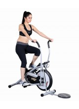 Yoneedo Air Bike Platinum DX Exercise Cycle With Twister
